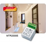 Yokis - Télérupteur Temporisé Encastrable 2000W - Réf : MTR2000E
