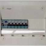 Hager - Tableau Pré-câblé - Gamma 13 modules 1 Rangée - Réf: HAG13101