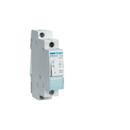 Hager - Télérupteur 1F 230V 16A - Réf: EPN510