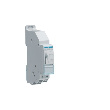 Hager - Télérupteur 1F 230V Sans Vis - Réf: EPS510B