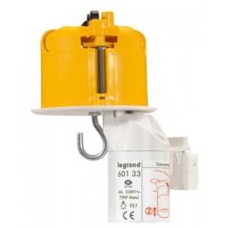 Legrand - Kit Boîte luminaire Batibox - cloison sèche - couvercle DCL - pour point de centre + douille et fiche DCL