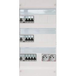 Legrand - Tableau Pré-câblé - Drivia 13 modules 3 Rangées - Réf: LEG13301