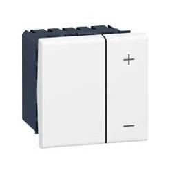 Legrand Mosaic - Variateur pour ballast 1-10 V avec neutre - 2 modules - blanc - Réf : 078404