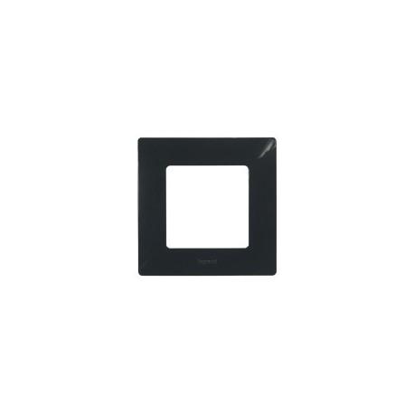 Legrand Niloé - Plaque 1 poste Onyx - Réf : 96701