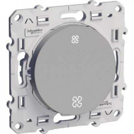 Schneider Odace - Interrupteur de VMC - 2 Vitesses - Réf : S530233