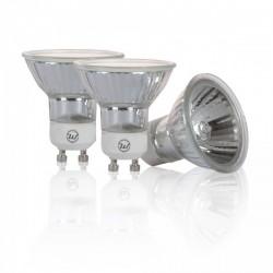 Woltz - Lot de 3 ampoules halogènes GU10 - Réf : 840007