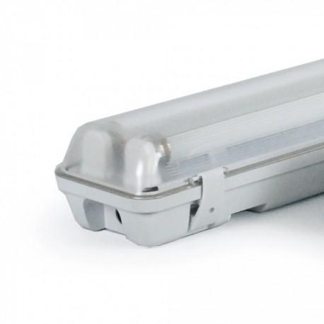 Woltz - Réglettes fluorescentes étanches 2x18W - Réf : 811051