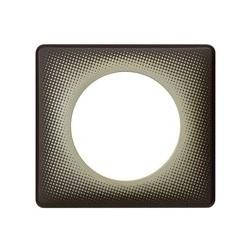 Legrand - Plaque 1P Basalte Etoile - Réf : 098849