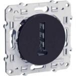 Schneider Odace - Conjoncteur En T Anthracite - 8 Contacts - À Vis - Réf : S540496