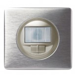 Legrand - Interrupteur automatique toutes charges - Ensemble Aluminium complet - Réf : A035