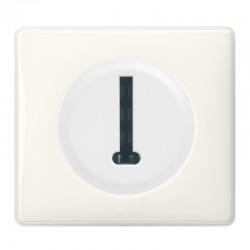 Legrand Céliane - Prise Téléphone en T 8 contacts - Ensemble Blanc complet à Griffes - Réf : 099562G