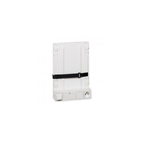 Legrand - Support box opérateur ADSL/Fibre - 4 cordons de liaison - 413149