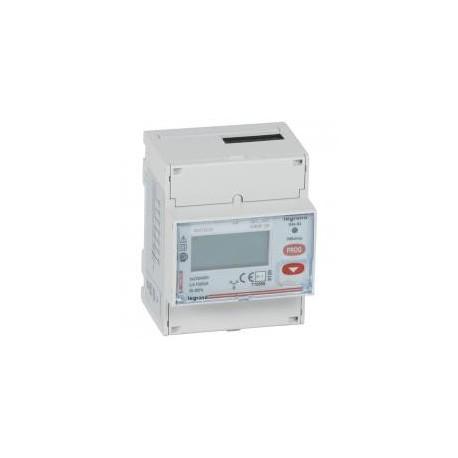 Legrand - Compteur triphasé EMDX³ - MID - raccordement direct 63 A - 4 modules - Réf : 004682