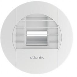 Atlantic - Bouche Hygro - Cuisine à piles - 10/45/135 m3/h - Réf : 542569