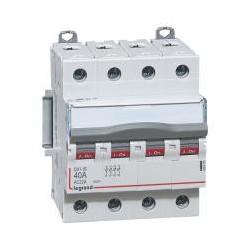 Legrand - Interrupteur-sectionneur DX³-IS - 4P 400 V~ - 40 A - 4 modules - Réf : 406480