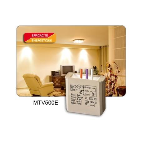 Yokis - Télévariateur Encastré 500W - Code article : 5454052 - Réf. : MTV500E