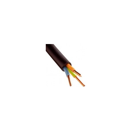 Câble U1000 R2V CU (Rigide) - 3G2,5 mm² - Coupe au mètre - Réf : 026700