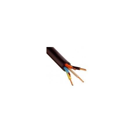 Câble U1000 R2V CU (Rigide) - 5G1.5 mm² - Coupe au mètre - Réf : 031000