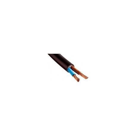Câble R2V 2x10 cuivre - Coupe au mètre - Réf : 024200