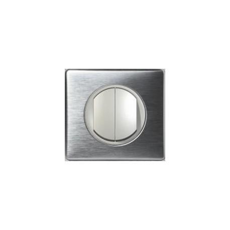 Legrand Céliane - Poussoir + Va et Vient - Ensemble Aluminium complet - Réf: A013