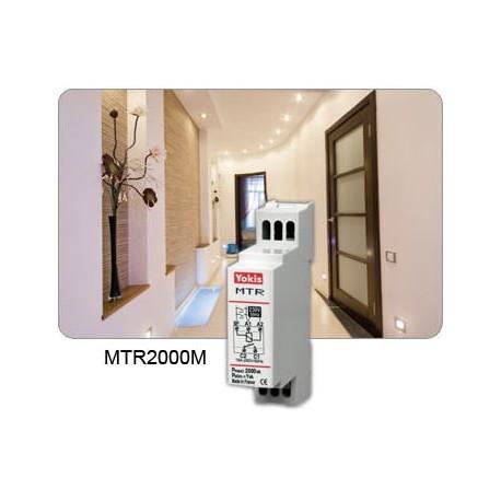Yokis - Télérupteur Temporisé Modulaire 2000W - Code article : 5454360 - Réf : MTR2000M