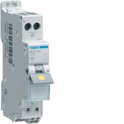 Hager - Disjoncteur 1P+N 3kA C 20A Auto - Réf: MFS720