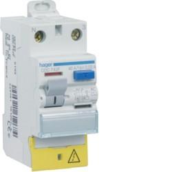 Hager - Interrupteur différentiel 40A 30mA type A - Réf : CDA743F