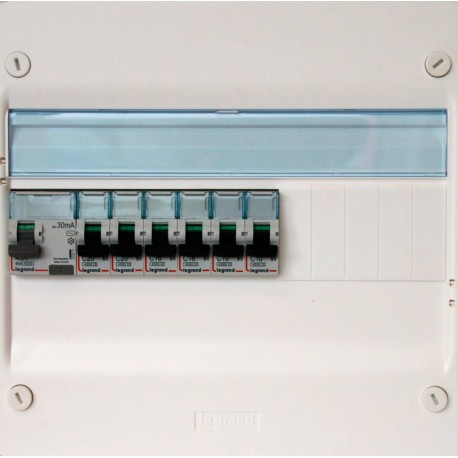 Legrand - Tableau Pré-câblé - Drivia 13 modules 1 Rangée - Réf: LEG13101