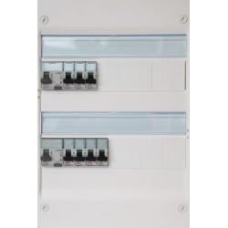 Legrand - Tableau Pré-câblé - Drivia 13 modules 2 Rangées - Réf: LEG13201