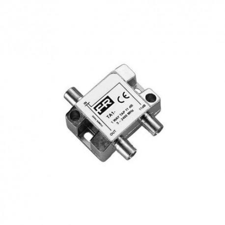 Fracarro - Repartiteur 2 sorties 5-2400 Mhz - Réf : SPTR2
