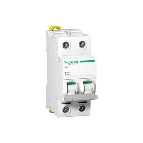 Schneider - Interrupteurs-Sectionneurs ISW - 2P 63A 415VAC - Réf: A9S65263
