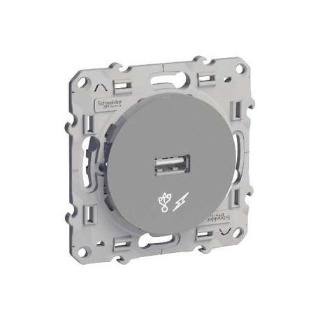 Schneider Odace - Chargeur USB - Réf : S530408