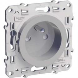 Schneider Odace - Prise de courant 2P+T - Spécial Rénovation - Réf : S530049