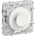 Schneider Odace - Variateur Standard - Blanc - Réf : S520511