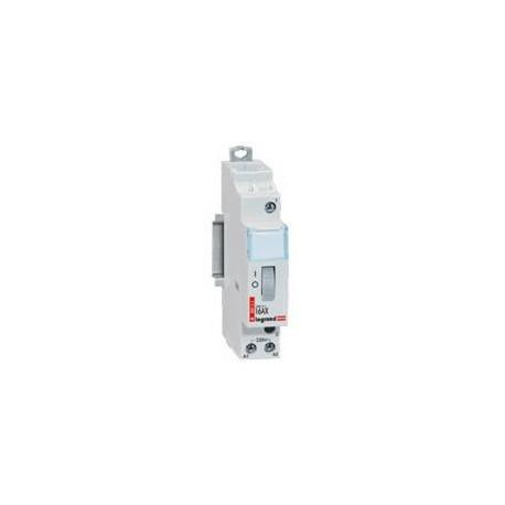 Legrand - Télérupteur standard à vis 230 V~- 1P - 250 V~ - 16 A - 1F - 1 module - Réf : 412408