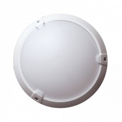 Woltz - Hublot plastique 60W - Classe II - IP 65 - Réf : 355090
