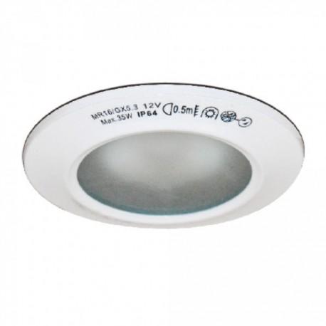 Woltz - Spot encastré rond TBT 12 V 35 W pour salle de bain - Réf : 812112
