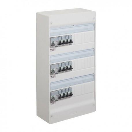 legrand tableau pr c bl drivia 13 modules 3 rang es r f leg13302 sas elec44. Black Bedroom Furniture Sets. Home Design Ideas