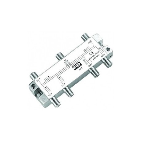Fracarro - Repartiteur 6 sorties 5-2400 Mhz - Réf : SPTR6