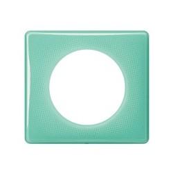 Legrand - Plaque 1P Turquoise 50S - Réf : 098845