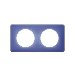 Legrand - Plaque 2P Violet 90S - Réf : 098866