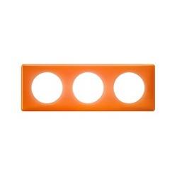 Legrand - Plaque 3P Orange 70S - Réf : 098887
