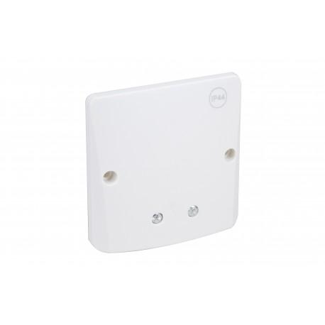 Eur'Ohm - Sortie de câble encastré - IP44 - 10/20A - vis apparentes et fixation par vis - Réf : 60097