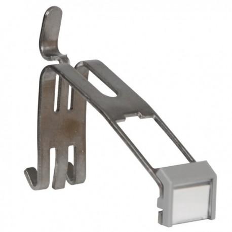 Ohmtec - Support rail DIN pour connecteur RJ45 CAT.6 - Réf : 423173