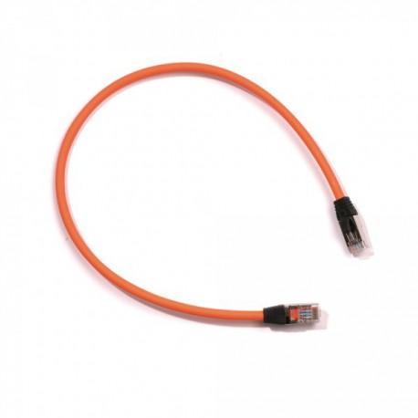 Ohmtec - Cordon de brassage cat6 FTP lSZH RJ45 mâle/mâle 50 cm - Réf : 413304