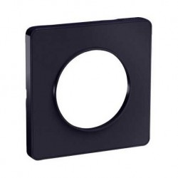 Schneider - Odace Touch, Plaque Anthracite 1 Poste - Réf : S540802