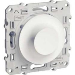 Schneider - Odace - Variateur Universel - Blanc - Led 400W - Réf : S520512