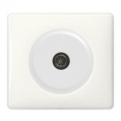 Legrand Céliane - Prise TV simple mâle - Ensemble Blanc complet à Griffes - Réf : 099563G