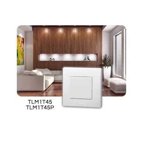 Yokis - Télécommande murale 1 touche - Réf : TLM1T45