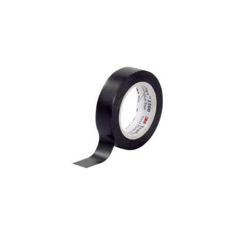 3M - Temflex 1500 Noir 19mm x 20m - Réf: 80471